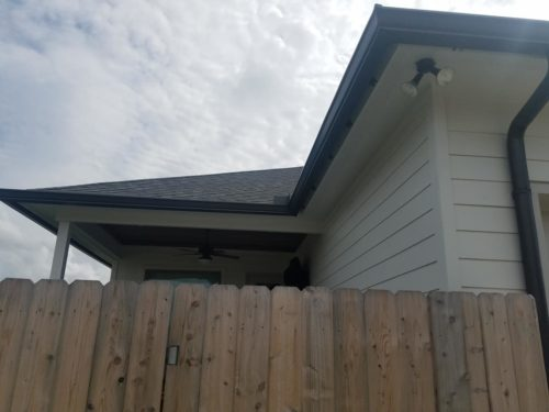 Gutter installation at home in New Iberia